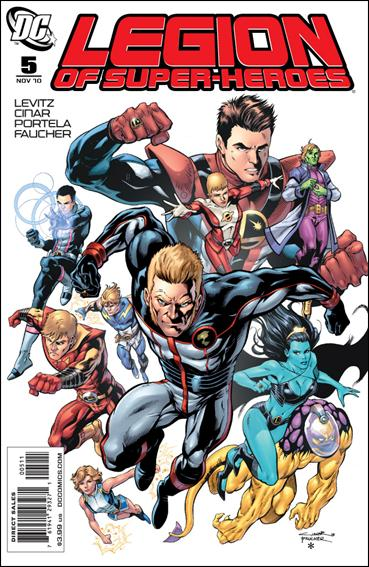 Legion of Super-Heroes (2010) 5-A by DC