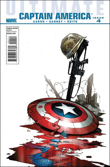 Ultimate Captain America 4-A by Marvel