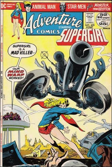Adventure Comics (1938) 420-A by DC