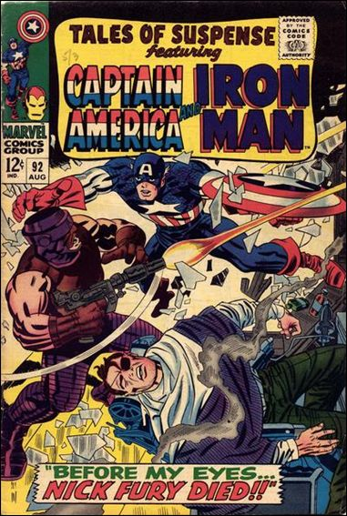 Tales of Suspense (1959) 92-A by Marvel