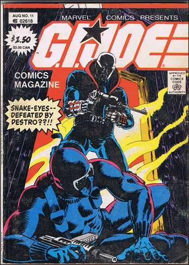 G.I. Joe: Comics Magazine 11-A by Marvel