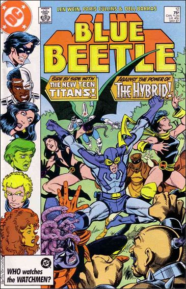 Blue Beetle (1986) 12-A by DC
