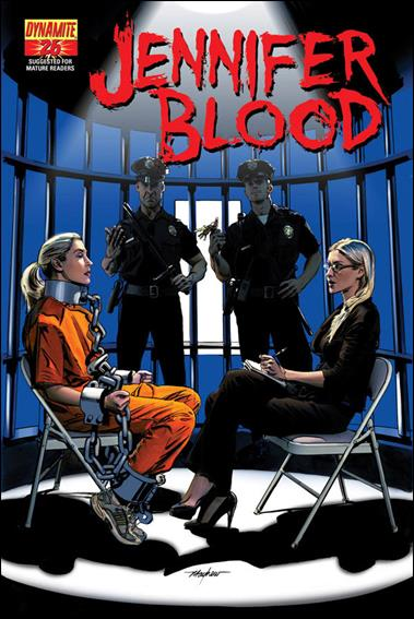 Jennifer Blood 26-A by Dynamite Entertainment