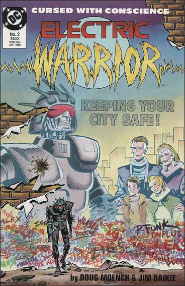 Electric Warrior 2-A by DC