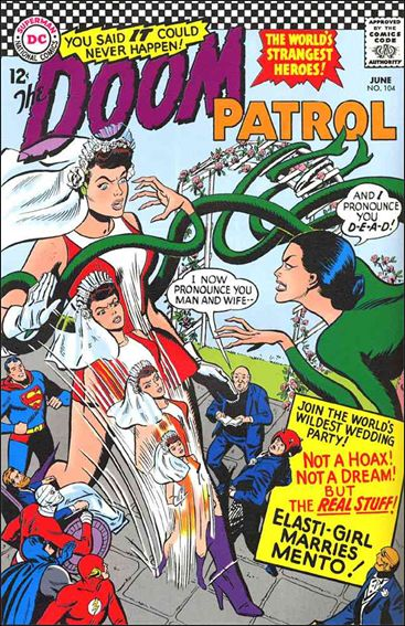 Doom Patrol (1964) 104-A by DC