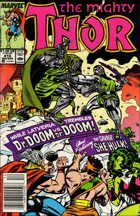 Thor (1966) 410-A by Marvel