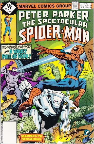 Spectacular Spider-Man (1976) 25-B by Marvel