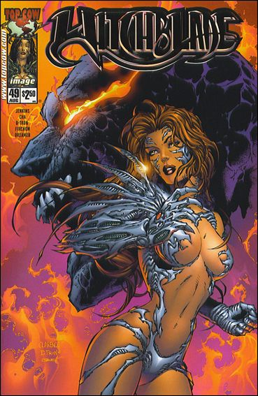 Witchblade 49-B by Top Cow