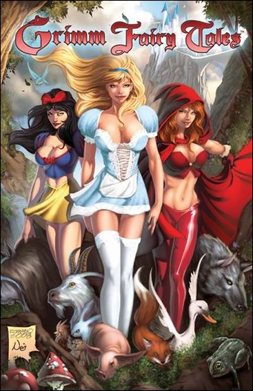 Grimm Fairy Tales 1 & 2-B by Zenescope Entertainment