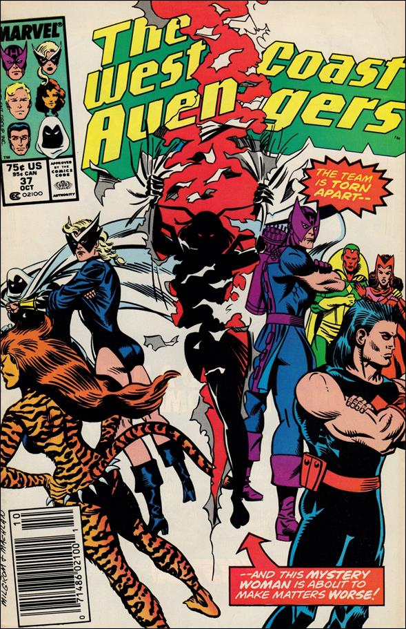West Coast Avengers (1985) 37-A by Marvel