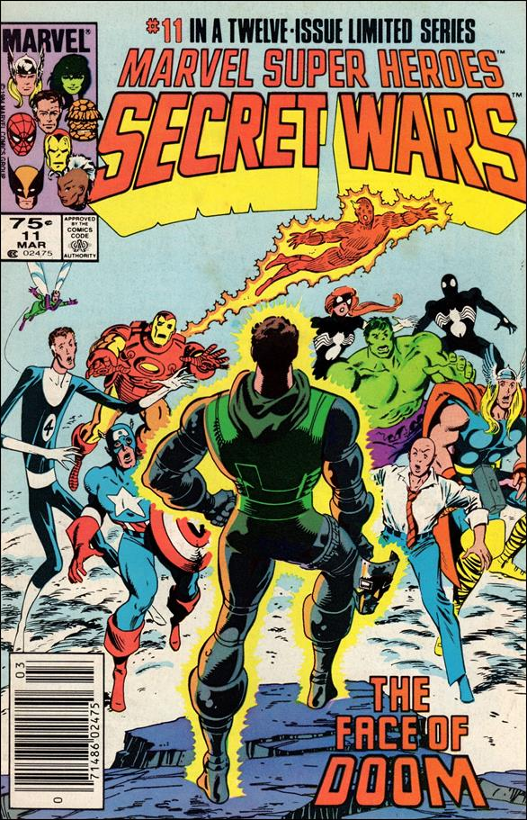 Marvel Super Heroes Secret Wars 11-A by Marvel
