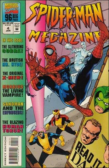 Spider-Man Megazine 4-A by Marvel