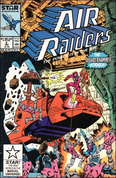 Air Raiders 2-A by Marvel