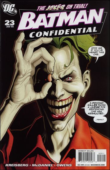Batman Confidential 23-A by DC