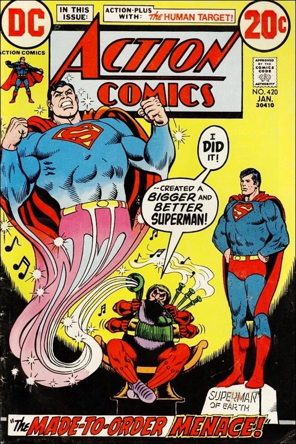 Action Comics (1938) 420-A by DC