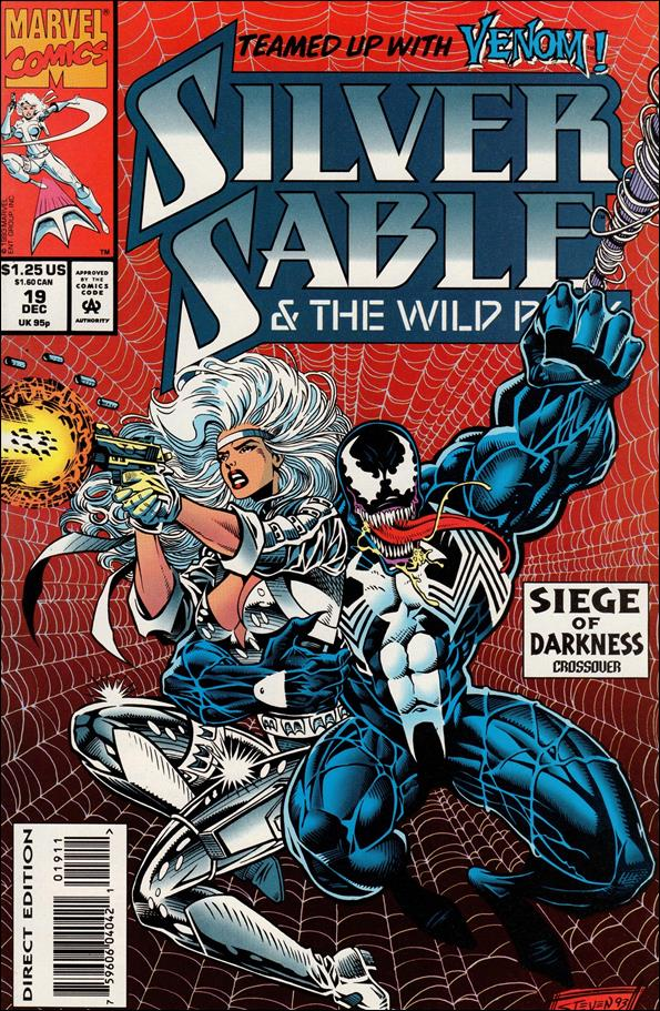Silver Sable & The Wild Pack 19-A by Marvel