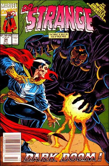 Doctor Strange, Sorcerer Supreme 34-A by Marvel