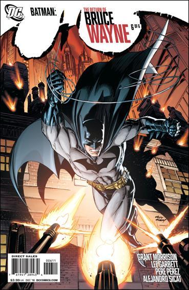 Batman: The Return of Bruce Wayne 6-A by DC