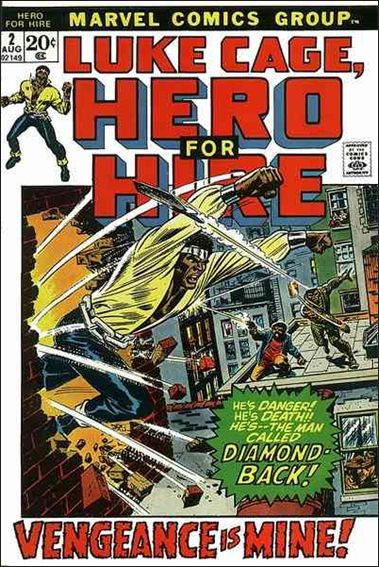 Hero for Hire 2-A by Marvel