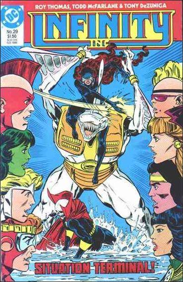 Infinity Inc. (1984) 29-A by DC