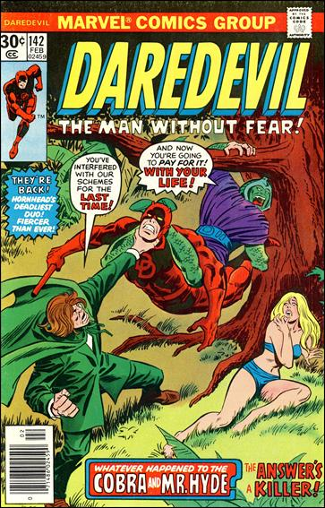 Daredevil (1964) 142-A by Marvel