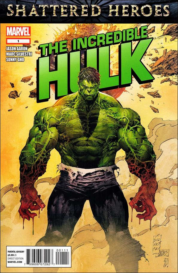 Incredible Hulk (2011)  1-A by Marvel