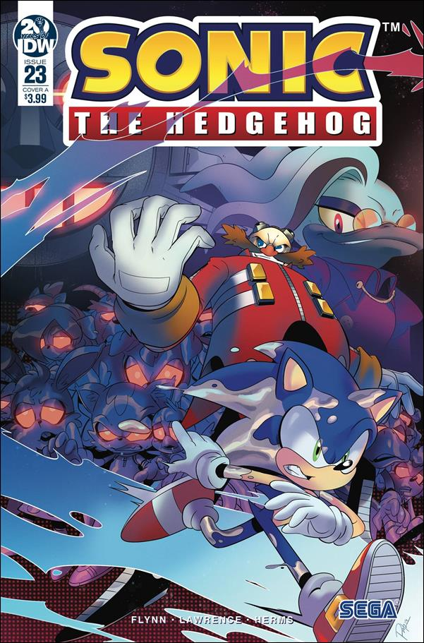 Sonic the Hedgehog (2018) 23-A by IDW