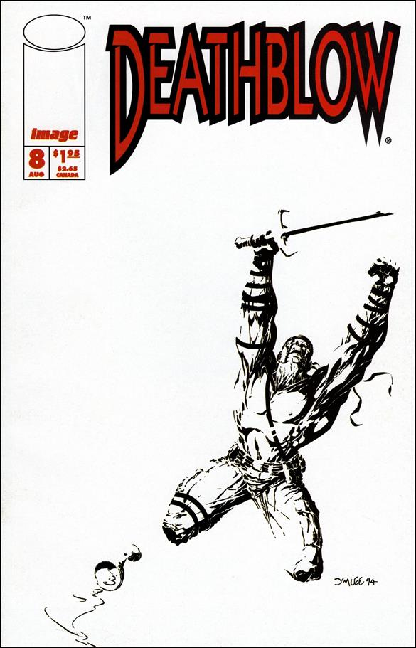 Deathblow (1993) 8-A by Image