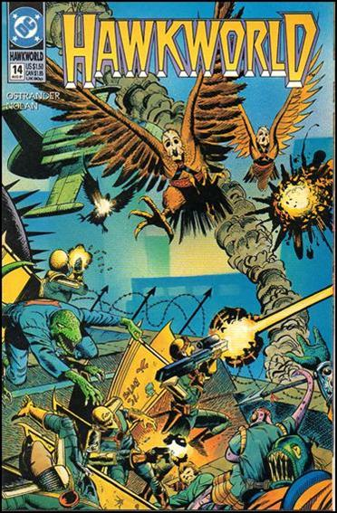 Hawkworld (1990) 14-A by DC