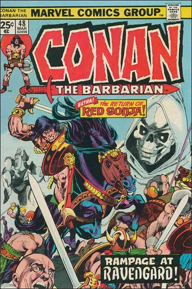 Conan the Barbarian (1970) 48-A by Marvel