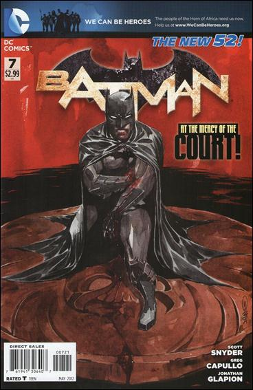 Batman (2011) 7-D by DC