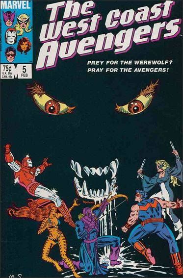 West Coast Avengers (1985) 5-A by Marvel