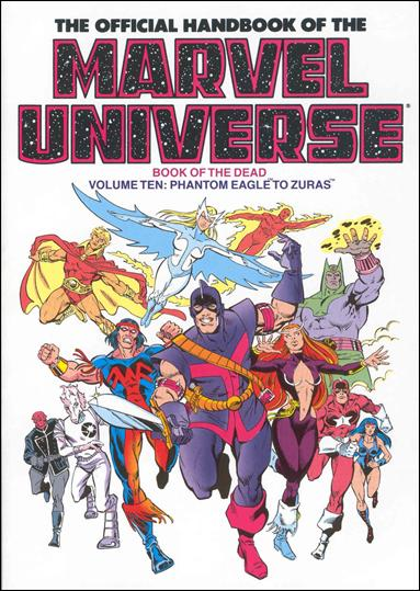 Official Handbook of the Marvel Universe 10-A by Marvel