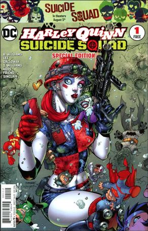 Harley Quinn & The Suicide Squad April Fools' Special 1-F