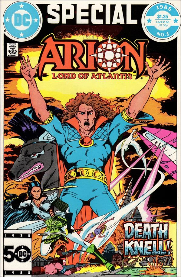 Arion, Lord of Atlantis Special 1-A by DC