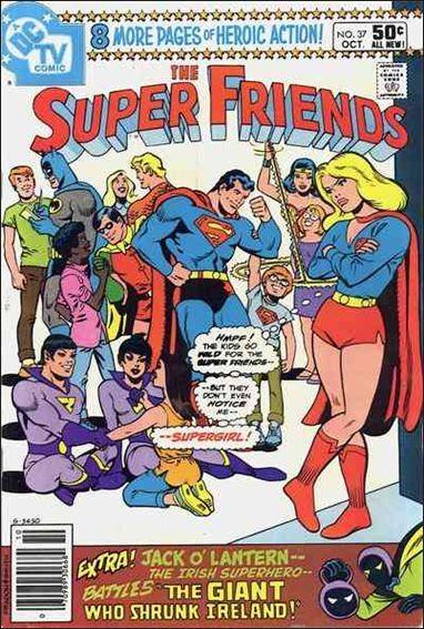Super Friends (1976) 37-A by DC