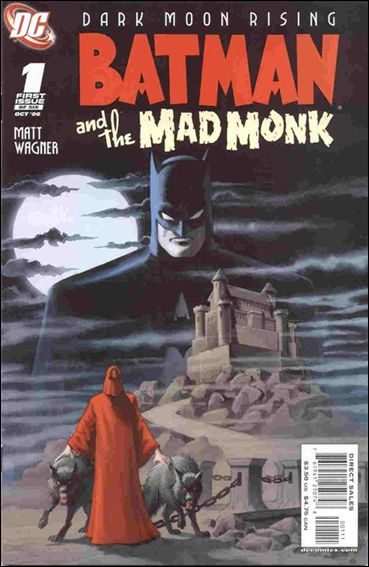 Batman and the Mad Monk 1-A by DC