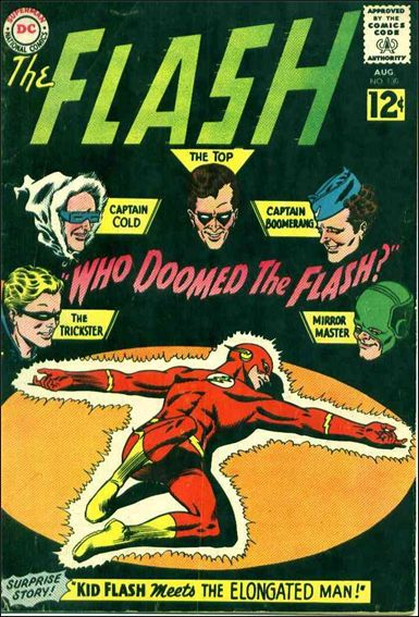 Flash (1959) 130-A by DC