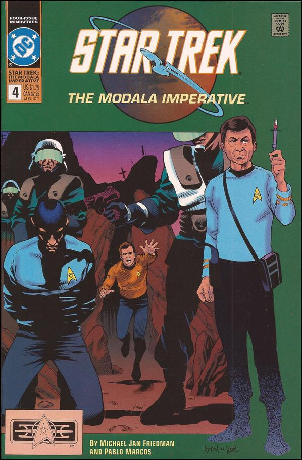 Star Trek - The Modala Imperative 4-A by DC