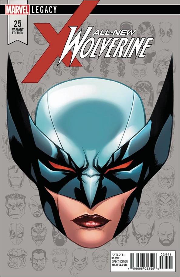 All-New Wolverine  25-E by Marvel