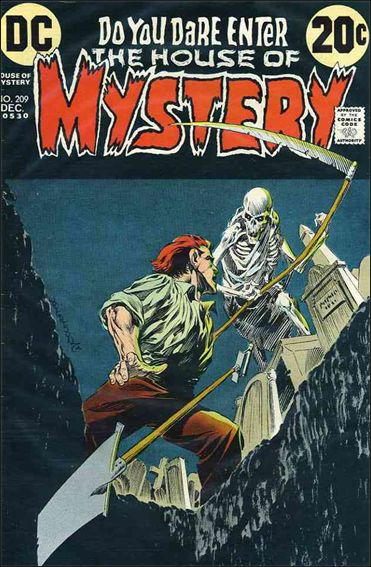 House of Mystery (1951) 209-A by DC