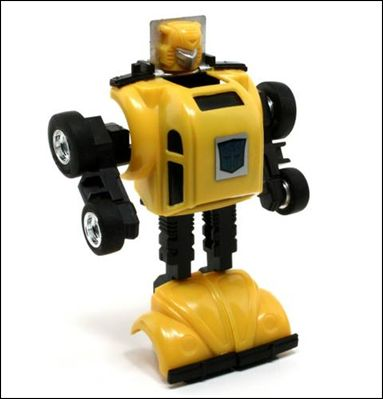 Transformers: More Than Meets the Eye (Generation 1) Bumblebee (Autobot Mini-Car) by Hasbro