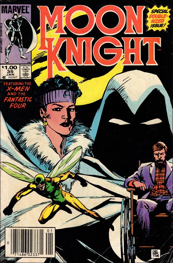Moon Knight (1980) 35-A by Marvel
