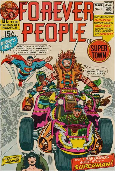 Forever People (1971) 1-A by DC