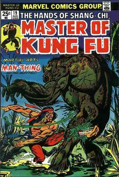 Master of Kung Fu 19-A by Marvel