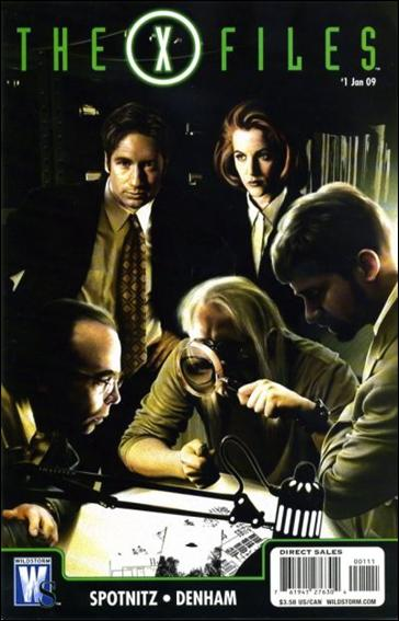 X-Files (2008) 1-A by WildStorm