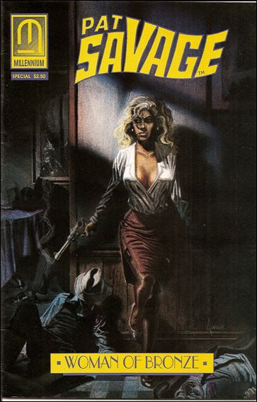 Pat Savage: The Woman of Bronze - Family Blood Special 1-A by Millennium