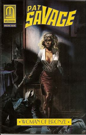 Pat Savage: The Woman of Bronze - Family Blood Special 1-A
