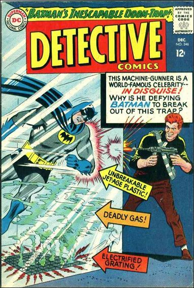 Detective Comics (1937) 346-A by DC