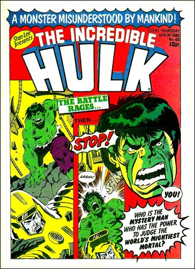 Hulk Comic (UK) 60-A by Marvel UK